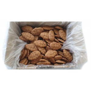 Mini pure butter speculoos with almonds