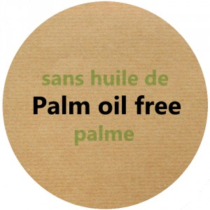 Vegetable fat without palm oil